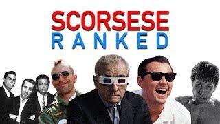 Martin Scorsese Ranked