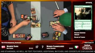 Pro Tour Dragons of Tarkir Quarterfinals (Standard): Martin Dang vs. Marco Cammilluzzi