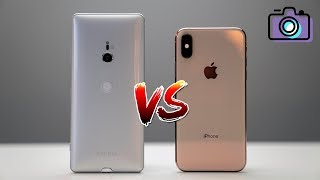Apple iPhone XS vs Sony Xperia XZ3 Camera Comparison!