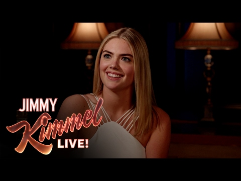 3 Ridiculous Questions with Jimmy Kimmel and Kate Upton