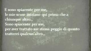 Alanis Morisette -  Sorry to myself (Traduzione)