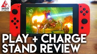 Play + Charge Switch In Tabletop Mode?? Play Stand Review + Unboxing