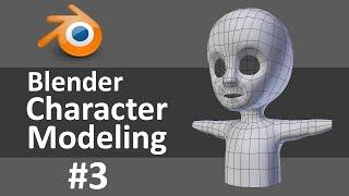 Blender Character Modeling 3 of 10