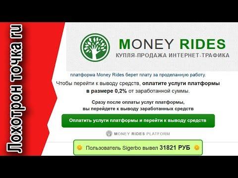 Платформа автоматического заработка Money Rides. Честный обзор.