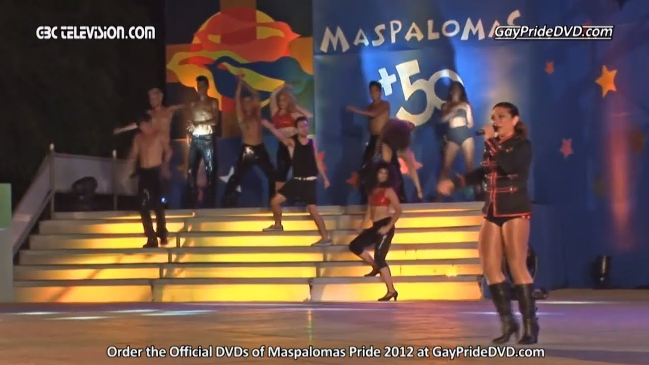 Maspalomas Pride 2012: Eva Iglesias: River Deep Mountain High