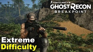 Ghost Recon: Breakpoint - [Navy Seal Roleplay] Base Infiltration | Perfect Stealth Gameplay