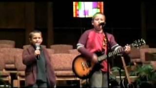 """Dawson and Jarrett Rhodes sing Steven Curtis Chapman's """"Children of God"""""""