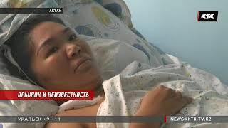 Женщина, прыгнувшая с 3 этажа, утверждает, что боялась за свою дочь