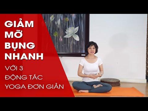 Yoga giảm mỡ bụng nhanh với 3 động tác đơn giản cùng Nguyễn Hiếu Yoga