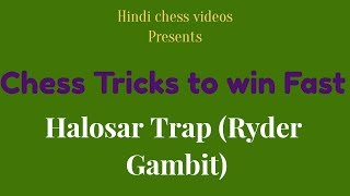 Chess Trick To Win Fast : Halosar Trap