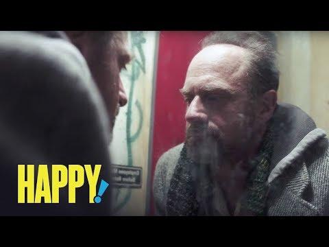 Video trailer för HAPPY! | San Diego Comic Con 2017 Teaser Trailer | SYFY