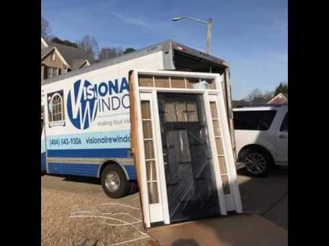 This is a progression video of the guys installing an Entry door in Woodstock, GA.