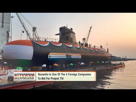 Navantia relanza la campaña del submarino S-80 en India