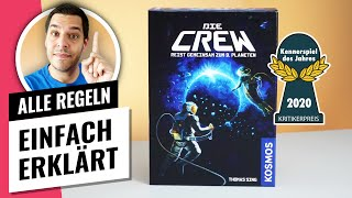 Die Crew - Alle Regeln einfach erklärt [Brettspiel]