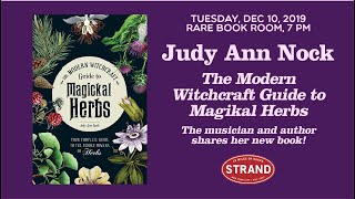 Judy Ann Nock | The Modern Witchcraft Guide To Magickal Herbs