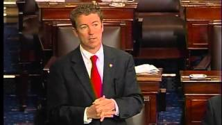 030613 - Sen. Rand Paul Senate Filibuster HOUR 5