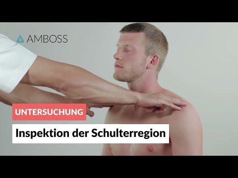 Die Temperatur an der Schultergelenkarthrose