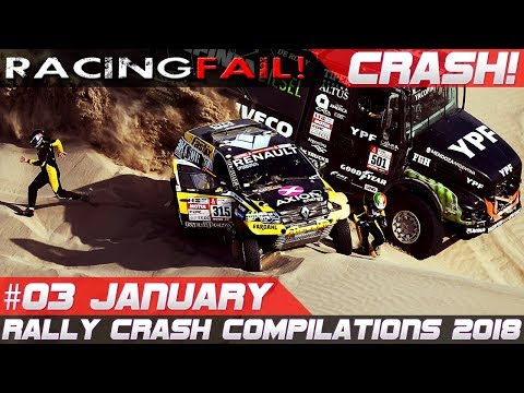 Dakar 2018 Special Week 3 Rally Crash Compilation | RACINGFAIL