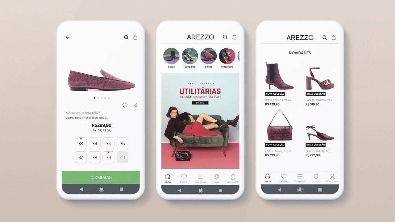 Arezzo App | Veja o Vídeo