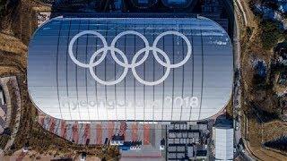 Pyeongchang Winter Olympics: A Drone's View - dooclip.me
