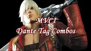 MVCI: Dante Tag Combos