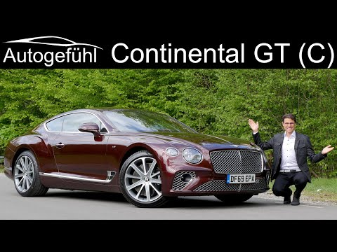 all-new Bentley Continental GT vs Continental GTC FULL REVIEW Coupé vs Cabriolet V8 comparison 2020