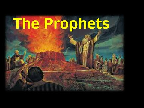 "Zoom Webinar CCE Sunday Service - ""The Prophets"" - May 17th (From the series ""Old Testament in 7 Sentences"")"