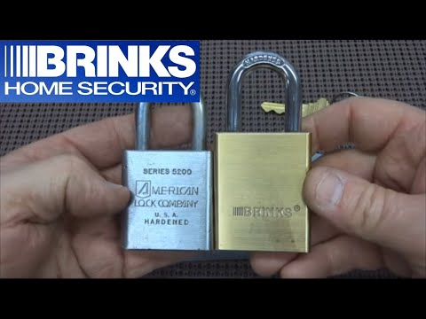 (103) Brinks 50mm Maximum Security Padlock SPP'd and Gutted
