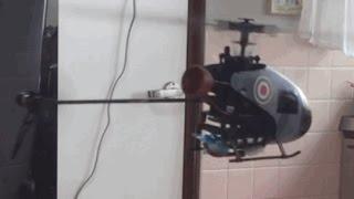 真坂のガゼルカminiCP・NATO迷彩フライト