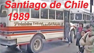 preview picture of video 'Santiago de Chile May 1989 Transit'