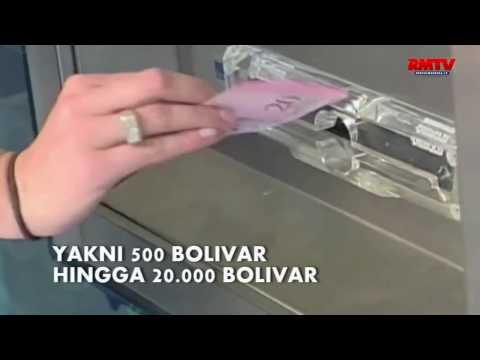 Venezuela Ganti Uang Kertas Pecahan Tertinggi Dengan Koin