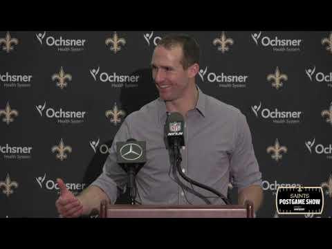 Drew Brees Postgame Interview, Talks 117 Yard Drive | New Orleans Saints