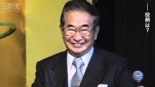 映画会見で石原知事「私は名優、演じているのは石原慎太郎という悪役」