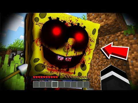 We Found CURSED SPONGEBOB.EXE in Minecraft at 3:00 AM... (Scary Minecraft Video)