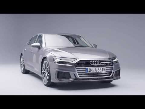 2018 Audi A6 Sedan Preview in Studio