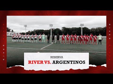 River vs. Argentinos Juniors [Reserva - EN VIVO]