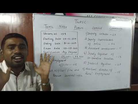 TNPSC Group 1- 2019 Notification | How to prepare TNPSC Group 1 exam