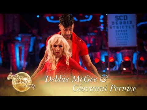 Debbie & Giovanni Salsa to 'I Can't Take My Eyes Off Of You' – Strictly Come Dancing 2017