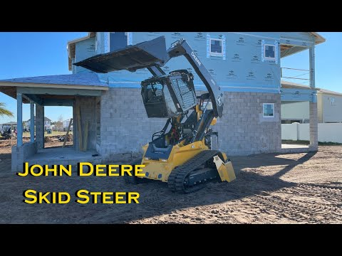 How to start up a John Deere Skid Steer