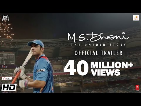 M.S.Dhoni - The Untold Story | Official Trailer | Sushant Singh Rajput | Neeraj Pandey