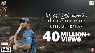 M.S.Dhoni - The Untold Story | Official Trailer