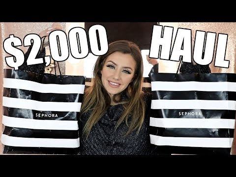 HUGE SEPHORA HAUL | New Makeup January 2018 | Jazzi Filipek
