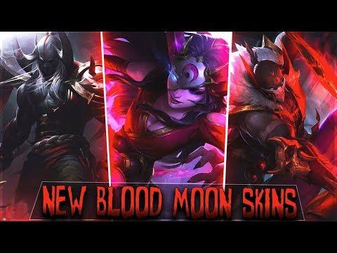 New Blood Moon Skins for Pyke Sivir Aatrox Prestige Aatrox - League