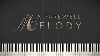 A Farewell Melody - Jacob's Piano \\ Synthesia Piano Tutorial