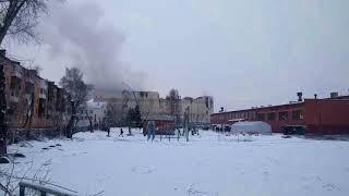 ТРЦ Зимняя вишня утром автор Полина Прилуцкая