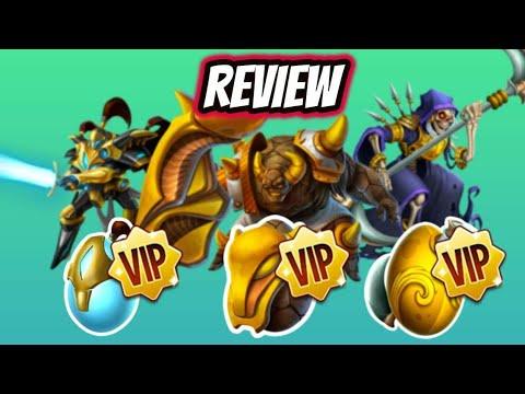 VIPS REVIWS E BATALHAS
