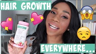 Nature's Bounty Hair, Skin and Nails Gummies Review | Regina Ramos