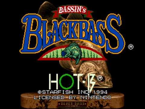 Bassin's Black Bass With Hank Parker Super Nintendo