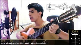 YO TE PREFIERO A TI 🎤 - RÍo Roma ft. Yuridia Acordes en Guitarra Cover   César Briseño