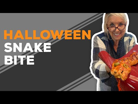 Quarantine Cooking: Halloween Snake Bite Recipe